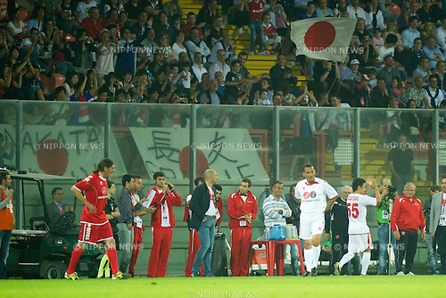 "Yuto Nagatomo, MAY 23th, 2011 - Football : The charity match ""Perugia for Sendai"" at Curi Stadium in Perugia, Italy, (Photo by Enrico Calderoni/AFLO SPORT) [0391]"