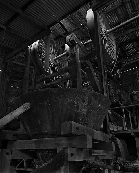 Tyrconnell Mine Battery Wheels