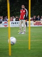 FUSSBALL   1. BUNDESLIGA   SAISON 2011/2012   TESTSPIEL Bayer 04 Leverkusen - Rangers FC                       13.07.2011 Trainer Robin DUTT(Bayer 04 Leverkusen)