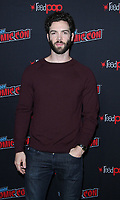 NEW YORK, NY - OCTOBER 6: Ethan Peck at the panel discussion for the new season of the CBS series Star Trek: Discovery during New York Comic Con 2018 at The Hulu Theater at Madison Square Garden in New York City on October 6, 2018. <br /> CAP/MPI/RW<br /> &copy;RW/MPI/Capital Pictures
