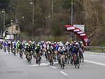 The start of the 2017 Strade Bianche Women Elite race running 127km from Siena to Siena, Tuscany, Italy 4th March 2017.<br /> Picture: LaPresse/Fabio Ferrari   Newsfile<br /> <br /> <br /> All photos usage must carry mandatory copyright credit (&copy; Newsfile   LaPresse/Fabio Ferrari)