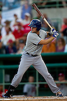 Ben Paulsen (11) of the Tulsa Drillers at bat during a game against the South All-Stars 2011 in the Texas League All-Star game at Nelson Wolff Stadium on June 29, 2011 in San Antonio, Texas. (David Welker / Four Seam Images)..