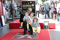 Jeff Goldblum, Emilie Livingston, River Joe Goldblum, Charlie Ocean Goldblum<br /> at the Jeff Goldblum Star on the Hollywood Walk of Fame Ceremony, Hollywood, CA 06-14-18<br /> David Edwards/DailyCeleb.com 818-249-4998