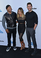 LL Cool J + Chrissy Teigen + John Krasinski @ the 'Lip Sync Battle' event held @ the TV Academy Wolf theatre. June 14, 2016