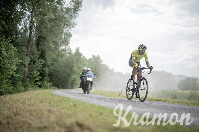 Aksel Nõmmela (EST/Wallonie-Bruxelles)<br /> <br /> Dwars door het Hageland 2019 (1.1)<br /> 1 day race from Aarschot to Diest (BEL/204km)<br /> <br /> ©kramon