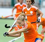 2013 Ned. Jong Oranje Dames-VS oefen