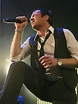 IRVINE, CA. - June 05: Musician Scott Weiland of Stone Temple Pilots performs at the 2010 Los Angeles KROQ Weenie Roast at Verizon Wireless Amphitheater on June 5, 2010 in Irvine, California.