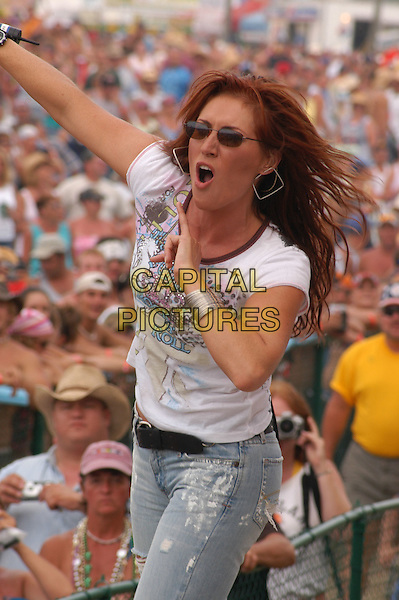 JO DEE MESSINA.Jamboree in the Hills.Morristown, 17th July 2005.stage gig half length half-length country music .Ref:Kelly Belcher.www.capitalpictures.com.sales@capitalpictures.com.© Capital Pictures.