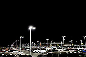PHOENIX, ARIZONA, USA, 10/2016<br /> New cars waiting for buyers at the &quot;Bill Luke&quot;, the giant car dealer, in the night.<br /> (Photo by Piotr Malecki / Napo Images)<br /> <br /> PHOENIX, ARIZONA, USA, 10/2016<br /> Gigantyczny parking nowych samochodow u dilera &quot;Bill Luke&quot;<br /> Fot: Piotr Malecki / Napo Images<br /> <br /> <br />  ###ZDJECIE MOZE BYC UZYTE W KONTEKSCIE NIEOBRAZAJACYM OSOB PRZEDSTAWIONYCH NA FOTOGRAFII###