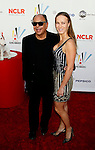 WESTWOOD, CA. - September 17: Cheech Marin and Natasha Rubin arrive at the 2009 ALMA Awards held at Royce Hall on the UCLA Campus on September 17, 2009 in Los Angeles, California.