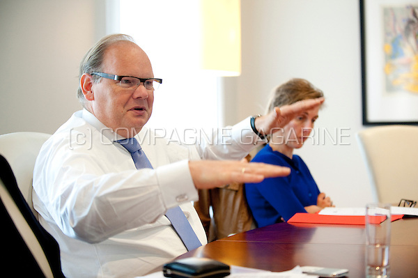 Victor Van Der Kwast, Country Executive Belgium and CEO Belgium PBI at ABN AMRO Bank N.V (Belgium, 24/08/2012)