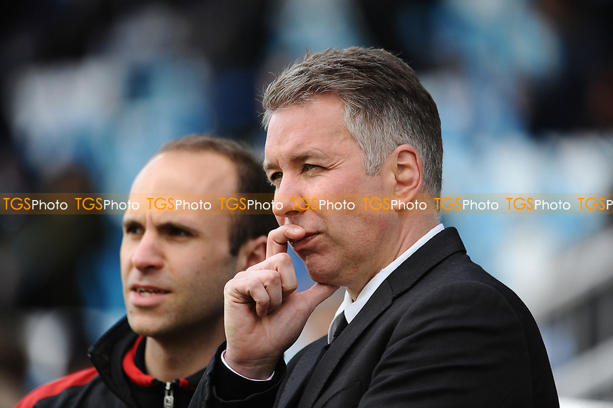 Doncaster Rovers managerDarren Ferguson during Hartlepool United vs Doncaster Rovers, Sky Bet EFL League 2 Football at Victoria Park on 6th May 2017