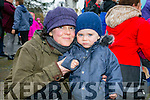 Tir na Nog Easter Festival - Under 12 Kids Fancy Dress Fun Run in Tralee Town Park were l-r  Lewis Kraiem and Sarah Jane Drummey