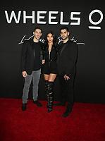 14 March 2019 - Los Angeles, California - Joshua Viner, Chantel Jeffries, Jonathan Viner. Launch of Wheels with DJ Chantel Jeffries held at Sunset Tower. Photo Credit: Faye Sadou/AdMedia
