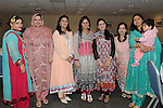 Giazala Hashim, Saba Bilal, Tehmina Sadiq, Sofia Khokhair, Zerina and Sara Kusisra and Wasiya Naveed pictured at the Eid ai-Fitr Festivity after completing the fasting month of Ramadan held in Drogheda Leisure Centre. Photo: Colin Bell/pressphotos.ie