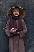 Nuns at Tu Hieu Temple