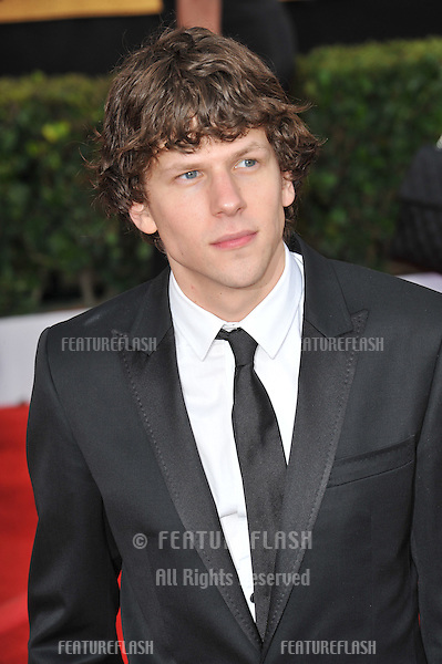 Jesse Eisenberg at the 17th Annual Screen Actors Guild Awards at the Shrine Auditorium..January 30, 2011  Los Angeles, CA.Picture: Paul Smith / Featureflash