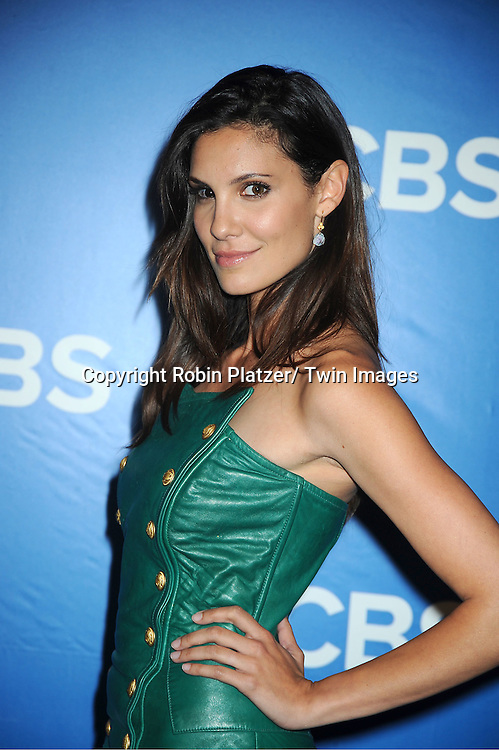 "Daniela Ruah of NCIS: Losangeles"" attends the CBS Upfront 2012 at The Tent at Lincoln Center in New York City on May 16, 2012."