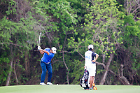 Hideki Matsuyama (JPN) on the 12th during the 3rd round at the WGC Dell Technologies Matchplay championship, Austin Country Club, Austin, Texas, USA. 24/03/2017.<br /> Picture: Golffile | Fran Caffrey<br /> <br /> <br /> All photo usage must carry mandatory copyright credit (&copy; Golffile | Fran Caffrey)
