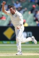 29th December 2019; Melbourne Cricket Ground, Melbourne, Victoria, Australia; International Test Cricket, Australia versus New Zealand, Test 2, Day 4; James Pattinson of Australia celebrates a wicket - Editorial Use