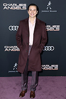 """LOS ANGELES - NOV 11:  Jake T Austin at the """"Charlie's Angels"""" Premiere at the Village Theater on November 11, 2019 in Westwood, CA"""