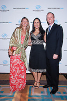 Carolina Lambrechts, Painira Faulk, and Brian Faulk attend The Boys and Girls Club of Miami Wild About Kids 2012 Gala at The Four Seasons, Miami, FL on October 20, 2012