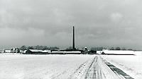 Ziegelei in Seestermühe, Schleswig-Holstein, Deutschland 1975