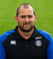 George Tavner of Bath Rugby poses for a portrait. Bath Rugby Media Day on August 14, 2018 at Farleigh House in Bath, England. Photo by: Patrick Khachfe / Onside Images