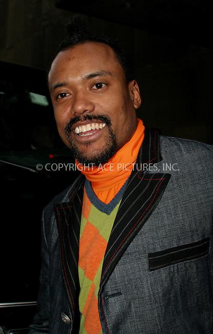 WWW.ACEPIXS.COM . . . . .  ....NEW YORK, APRIL 20, 2006....apl.de.ap of the Black Eyed Peas makes a guest appearance on TRL.....Please byline: NANCY RIVERA- ACEPIXS.COM.... *** ***..Ace Pictures, Inc:  ..Craig Ashby (212) 243-8787..e-mail: picturedesk@acepixs.com..web: http://www.acepixs.com
