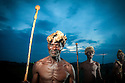 Ngoni Warriors at the Ncwala Festival in Chipata, Zambia