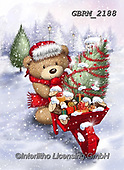 Roger, CHRISTMAS ANIMALS, WEIHNACHTEN TIERE, NAVIDAD ANIMALES, paintings+++++,GBRM2188,#xa#