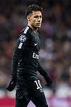 Neymar da Silva Santos Junior, Neymar Jr, of Paris Saint Germain looks on during the UEFA Champions League 2017-18 Round of 16 (1st leg) match between Real Madrid vs Paris Saint Germain at Estadio Santiago Bernabeu on February 14 2018 in Madrid, Spain. Photo by Diego Souto / Power Sport Images