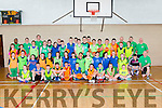 The large crowd enjoying the Gneeveguilla basketball club summer camp in Rathmore on Tuesday
