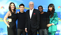 "07 June 2019 - North Hollywood, California - D'Arcy Carden, Manny Jacinto, Ted Danson, William Jackson Harper, Jameela Jamil. FYC Event for NBC's ""The Good Place"" held at Saban Media Center at the Television Academy. Photo Credit: Birdie Thompson/AdMedia"