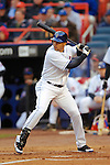 3 April 2006: Carlos Beltran, outfielder for the New York Mets, at bat during Opening Day play against the Washington Nationals at Shea Stadium, in Flushing, New York. The Mets defeated the Nationals 3-2 to lead off the 2006 MLB season...Mandatory Photo Credit: Ed Wolfstein Photo..