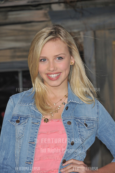 "Gracie Dzienny at the Los Angeles premiere of the animated movie ""Rango"" at the Regency Village Theatre, Westwood..February 14, 2011  Los Angeles, CA.Picture: Paul Smith / Featureflash"