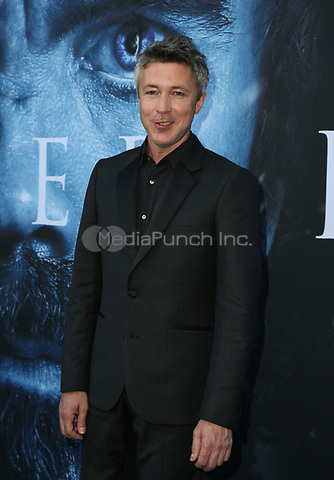 """LOS ANGELES, CA July 12- Aiden Gillen,  At Premiere Of HBO's """"Game Of Thrones"""" Season 7 at The Walt Disney Concert Hall, California on July 12, 2017. Credit: Faye Sadou/MediaPunch"""