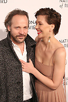 Maggie Gyllenhaal and Peter Sarsgaard attends the 2019 National Board Of Review Gala at Cipriani 42nd Street on January 08, 2019 in New York City. <br /> CAP/MPI/WMB<br /> ©WMB/MPI/Capital Pictures