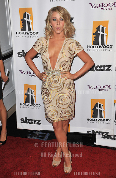 Julianne Hough at the 15th Annual Hollywood Film Awards Gala at the Beverly Hilton Hotel..October 24, 2011  Beverly Hills, CA.Picture: Paul Smith / Featureflash