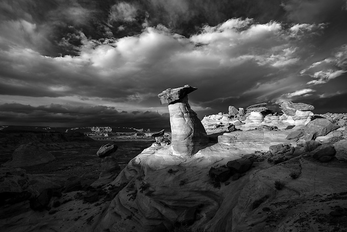 A dramatic display of light at Stud Horse Point, Utah.