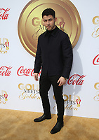 WEST HOLLYWOOD, CA - JANUARY 6: Nick Jonas at the Gold Meets Golden 5th Anniversary party at The House On Sunset in West Hollywood, California on January 6, 2018. <br /> CAP/MPI/FS<br /> &copy;FS/MPI/Capital Pictures