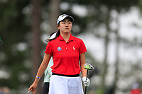 Rose Zhang (USA) during the final  round at the Augusta National Womans Amateur 2019, Augusta National, Augusta, Georgia, USA. 06/04/2019.<br /> Picture Fran Caffrey / Golffile.ie<br /> <br /> All photo usage must carry mandatory copyright credit (&copy; Golffile | Fran Caffrey)