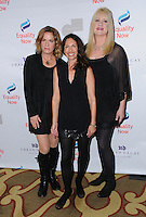"05 December 2016 - Beverly Hills, California. Vicki Peterson, Susanna Hoffs, Debbi Peterson.   Equality Now's 3rd Annual ""Make Equality Reality"" Gala  held at Montage Beverly Hills. Photo Credit: Birdie Thompson/AdMedia"