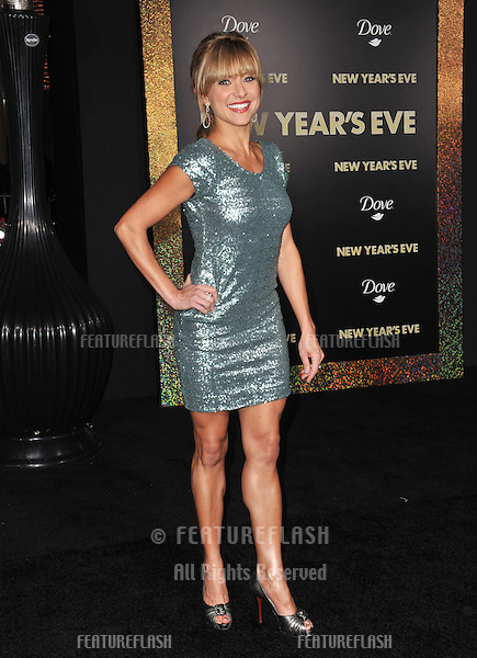 """Christine Lakin at the world premiere of her new movie """"New Year's Eve"""" at Grauman's Chinese Theatre, Hollywood..December 5, 2011  Los Angeles, CA.Picture: Paul Smith / Featureflash"""