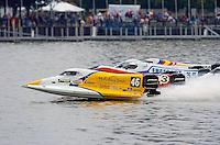 Start Heat Race (front to back): Kris Shepard (#46), Bill Rucker (#3), Scott Landgraf (#17), Mike Klepadlo (#35)John Broge (#67) and Vince Voisin (#23).