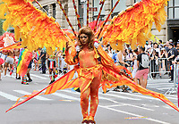 www.acepixs.com<br /> <br /> June 25 2017, New York City<br /> <br /> Atmospghere at the New York City Gay Pride 2017 Parade on June 25, 2017 in New York City.<br /> <br /> By Line: Nancy Rivera/ACE Pictures<br /> <br /> <br /> ACE Pictures Inc<br /> Tel: 6467670430<br /> Email: info@acepixs.com<br /> www.acepixs.com
