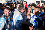 Argentinian supporters before match between Spain and Argentina at Wanda Metropolitano in Madrid , Spain. March 27, 2018. (ALTERPHOTOS/Borja B.Hojas)