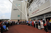 Pictured: Saturday 22 September 2014<br />