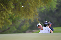 Alex Noren (SWE) watches his chip on to 6 during day 5 of the World Golf Championships, Dell Match Play, Austin Country Club, Austin, Texas. 3/25/2018.<br /> Picture: Golffile | Ken Murray<br /> <br /> <br /> All photo usage must carry mandatory copyright credit (&copy; Golffile | Ken Murray)