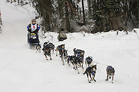 Rohn Buser Willow restart Iditarod 2008.